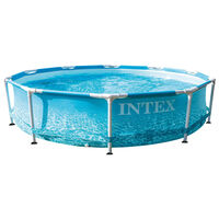 Intex Beachside Metal Frame Baseinas, 305x76cm