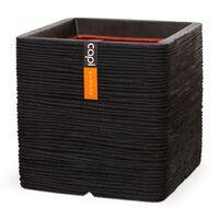 Capi Vazonas Nature Rib, juodos spalvos, 50x50cm, kvadratinis