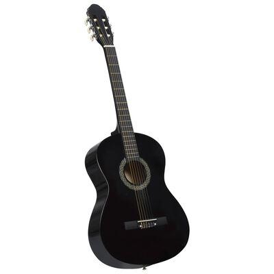 """vidaXL Klasikinės gitaros rinkinys pradedantiesiems, 12 dalių, 4/4 39"""""""