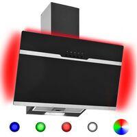 vidaXL Gartraukis, įvairių spalvų, 60cm, plienas ir stiklas, su LED