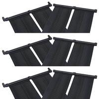 vidaXL Baseino šildymo plokštės, 6vnt., 80x310cm (6x313994)