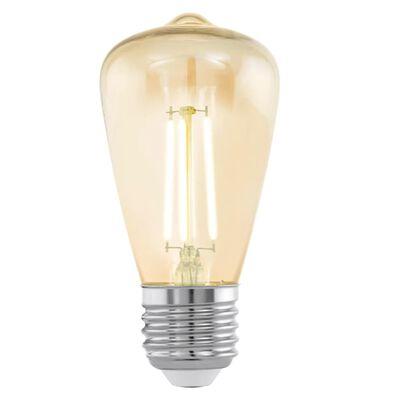 EGLO Vintažo Stiliaus LED Lemputė E27 ST48 Amber 11553