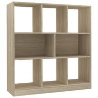vidaXL Spintelė knygoms, sonoma ąžuolo sp., 97,5x29,5x100cm, MDP