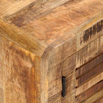 vidaXL Televizoriaus spintelė, 120x30x40cm, neapdorota mango mediena