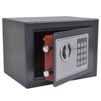 vidaXL Elektroninis skaitmeninis seifas, 23x17x17cm