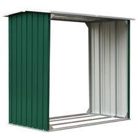 vidaXL Malkinė, žalios spalvos, 172x91x154cm, galvanizuotas plienas