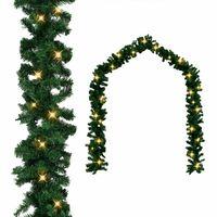 vidaXL Kalėdinė girlianda su LED lemputėmis, 10m