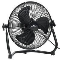 vidaXL Pastatomas ventiliatorius, juodas, 60cm, 3 greičiai, 120W
