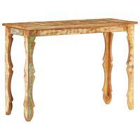 vidaXL Konsolinis staliukas, 110x40x76cm, perdirbtos medienos masyvas