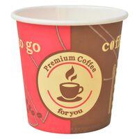 vidaXL Vienk. kavos puodeliai, 1000 vnt., popieriniai, 120 ml (4 oz)