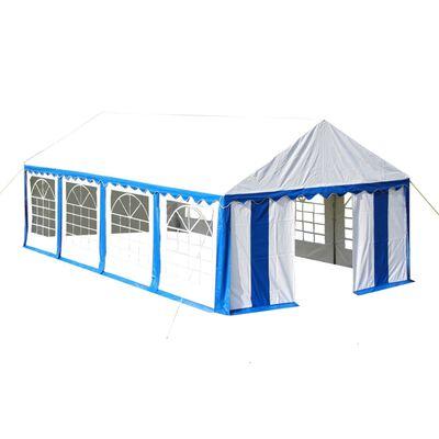 vidaXL Proginė palapinė, mėlyna, 4 x 8 m