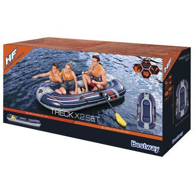 Bestway Hydro-Force Pripučiamos valties rinkinys Treck x2, 255x127cm