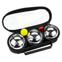 Get & Go Petankės rinkinys , sidabrinės spalvos, 3 kamuoliai
