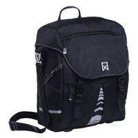 Willex Dviračio krepšys XL 1200, juodos spalvos, 25 L