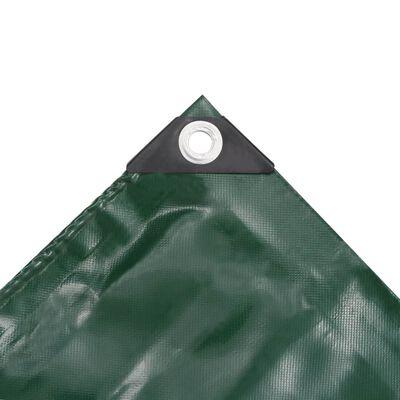 vidaXL Tentas, 650g/m², 2x3m, žalias