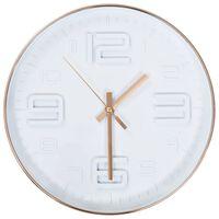 vidaXL Sieninis laikrodis, 30cm, vario imitacija