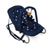 Baninni Vaikiška supamoji kėdutė Relax Classic, mėlyna BNBO002-BLST