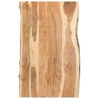 vidaXL Stalviršis, 100x(50-60)x3,8cm, akacijos medienos masyvas