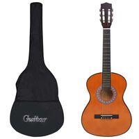 """vidaXL Klasikinės gitaros rinkinys vaikams, 8 dalių, 3/4 36"""""""