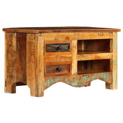 vidaXL Spintelė televizoriui, 80x30x40cm, perdirbtos medienos masyvas