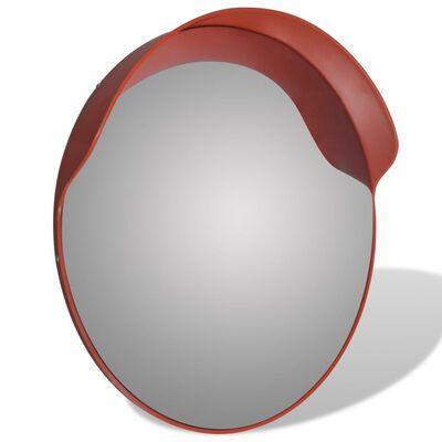Sferinis kelio veidrodis, oranžinis, 60cm, PC plastikas, laukui