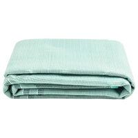 vidaXL Palapinės kilimas, žalios spalvos, 550x250cm