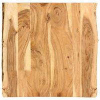 vidaXL Stalviršis, 60x(50-60)x2,5cm, akacijos medienos masyvas