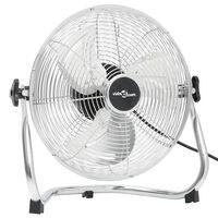 vidaXL Pastatomas ventiliatorius, chromo, 30cm, 3 greičiai, 40W
