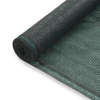 vidaXL Uždanga teniso kortams, žalia, 1,8x50m, HDPE