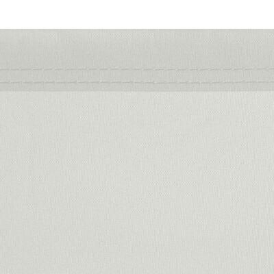 vidaXL Suskleidžiama Šoninė Pertvara, 160 x 600 cm, Kreminės Spalvos