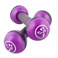 Zumba Svarmenys, 2vnt., violetinės spalvos, 1kg, ZUM011