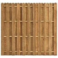 vidaXL Tvoros plokštė, 180x170cm, pušies mediena