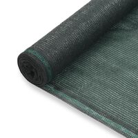 vidaXL Uždanga teniso kortams, žalia, 1,6x25m, HDPE