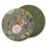 Descanso Dekoratyvinė pagalvė PARMA, 55x55cm, alyvuogių