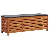 vidaXL Sodo daiktadėžė, 150x50x55cm, eukalipto medienos masyvas
