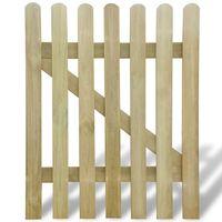 vidaXL Sodo vartai, 100x120cm, mediena