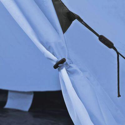 vidaXL Keturvietė palapinė, mėlyna