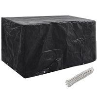 vidaXL Sodo baldų uždangalas, 180x70x90cm, 8 kilputės