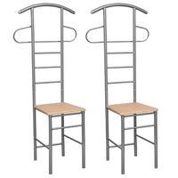 Dvi Kėdės – Kabyklos Rūbams