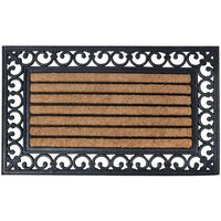 Esschert Design Durų kilimėlis, 75x45cm, guma, RB108