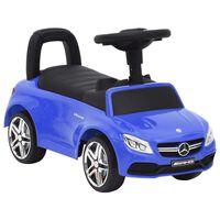 vidaXL Paspiriamas vaikiškas automobilis Mercedes-Benz C63, mėlynas