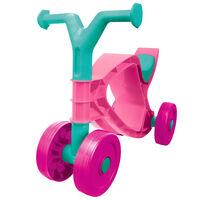 BIG Flippi Ride-On Dviratis, rožinės ir turkio spalvos