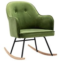 VidaXL Supama kėdė, šviesiai žalios spalvos, aksomas
