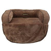 Scruffs Sofa augintiniams Chester, šokoladinės spalvos, M dydžio