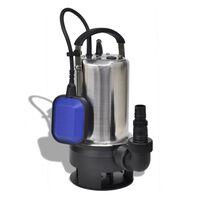 vidaXL purvino vandens panardinamas siurblys, 750 W 12500 L/h