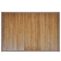 2 Vonios Kilimėliai iš Bambuko, 40 x 50 cm, Rudi