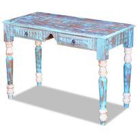 vidaXL Rašomojo stalas, perdirbta mediena