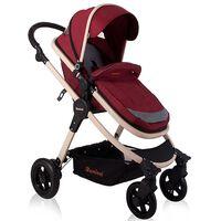 Baninni 3-1 Vaikiškas vežimėlis Ayo, blanki raudona BNST011-RD