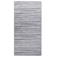 vidaXL Lauko kilimas, pilkos spalvos, 190x290cm, PP