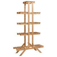 vidaXL Stovas augalams, 83x25x142cm, eglės mediena